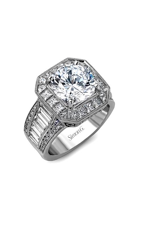 Simon G Passion - 18k white gold 0.18, 1.29, 1.65ctw Diamond Engagement Ring, MR2277 product image