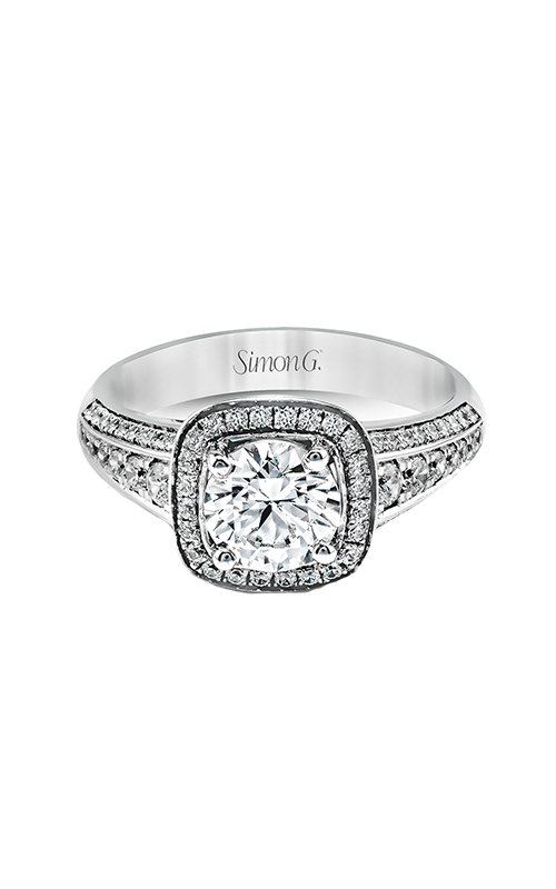 Simon G Passion - 18k white gold 0.44ctw Diamond Engagement Ring, MR2341 product image