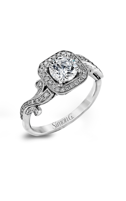 Simon G Passion - 18k white gold 0.25ctw Diamond Engagement Ring, TR524 product image