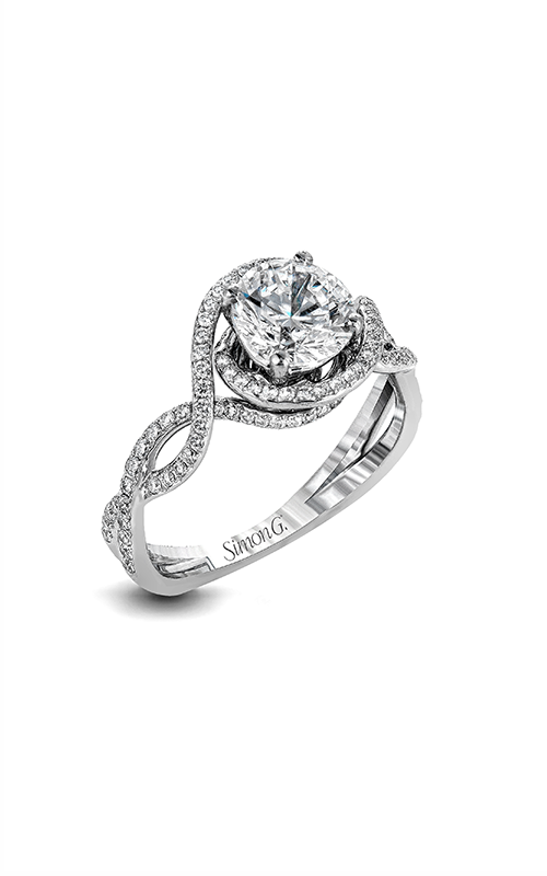 Simon G Passion - 18k white gold 0.50ctw Diamond Engagement Ring, LP2304 product image