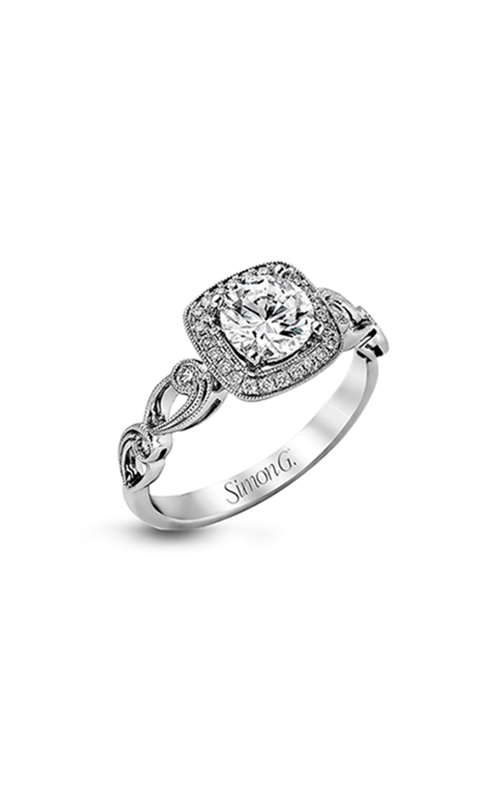 Simon G Passion - 18k white gold 0.16ctw Diamond Engagement Ring, TR526 product image
