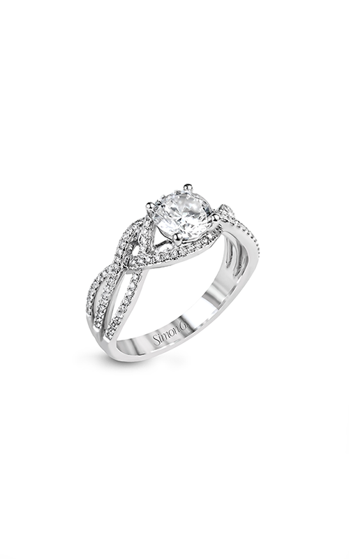 Simon G Passion - 18k white gold 0.29ctw Diamond Engagement Ring, MR2593 product image