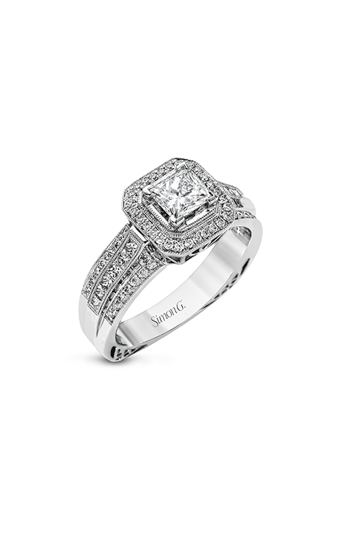 Simon G Passion - 18k white gold 0.46ctw Diamond Engagement Ring, NR454 product image
