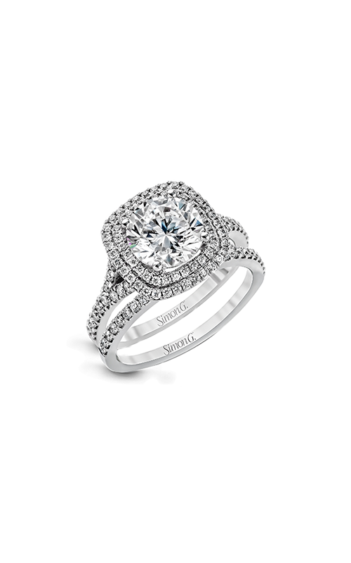 Simon G Passion - 18k white gold 0.63ctw Diamond Engagement Ring, MR2459 product image