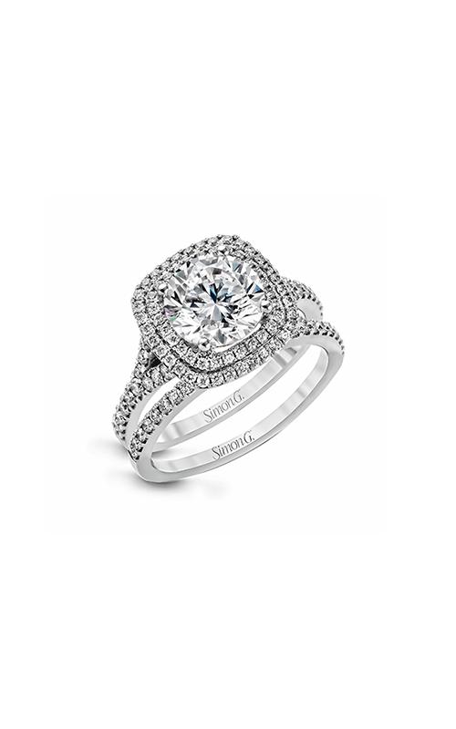 Simon G Passion - 18k white gold 0.67ctw Diamond Engagement Ring, MR2461 product image