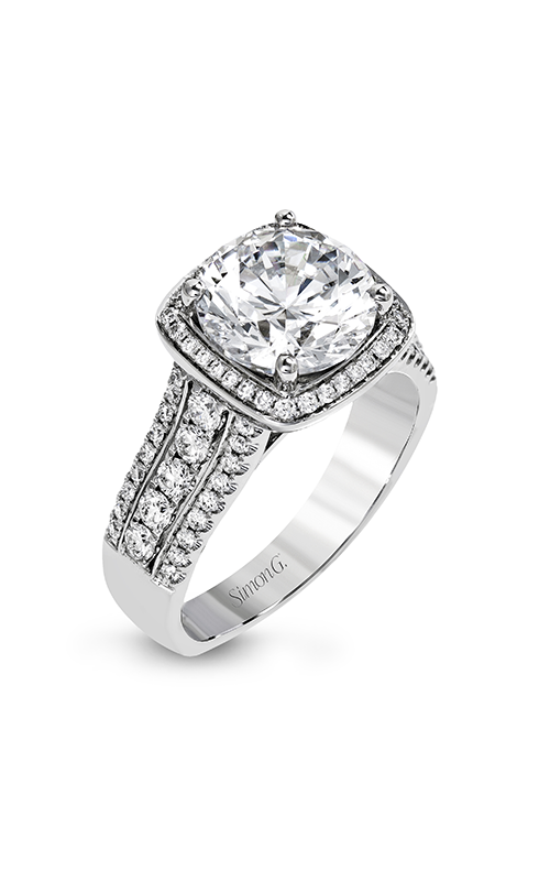 Simon G Classic Romance - 18k white gold 0.64ctw Diamond Engagement Ring, MR2614 product image