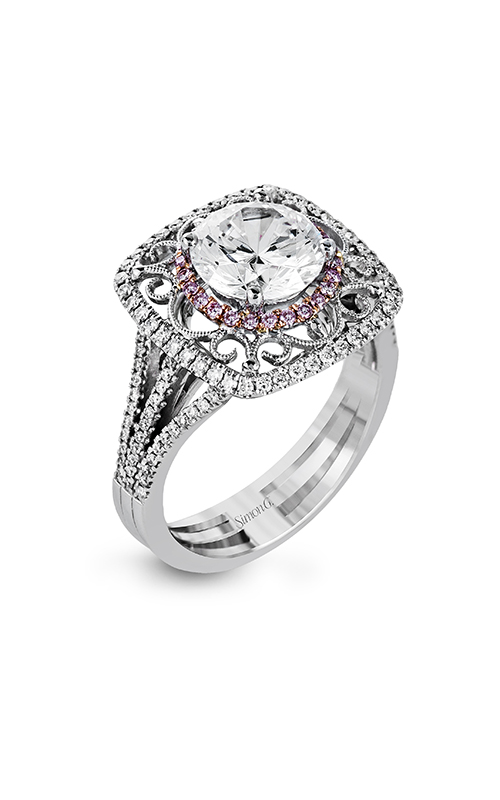 Simon G Vintage Explorer - 18k rose gold, 18k white gold 0.35ctw Diamond Engagement Ring, MR2643 product image