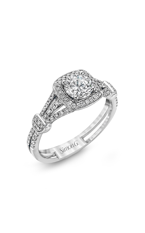 Simon G Delicate - 18k white gold 0.26ctw Diamond Engagement Ring, TR418-D product image