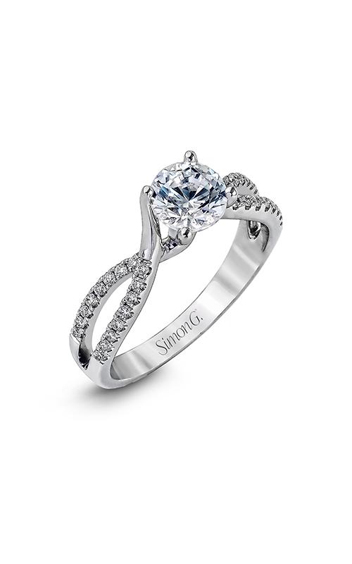 Simon G Delicate - 18k white gold 0.18ctw Diamond Engagement Ring, DR234-D product image