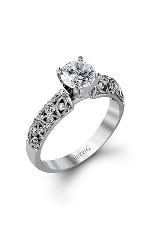Simon G Delicate - 18k white gold 0.35ctw Diamond Engagement Ring, LP1582-D product image
