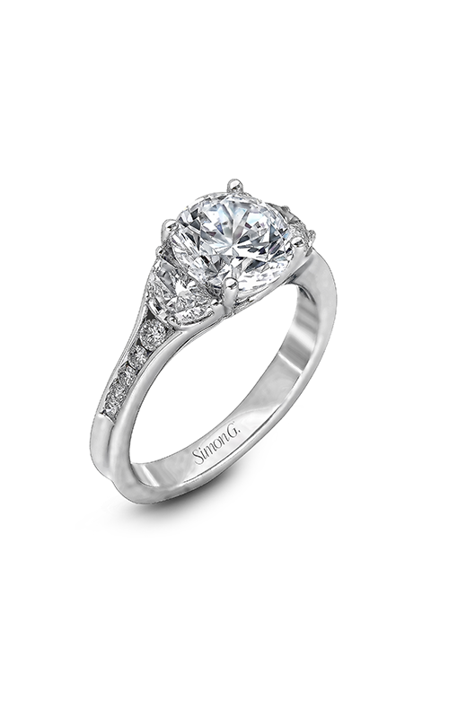 Simon G Modern Enchantment - 18k white gold 0.69ctw Diamond Engagement Ring, MR2310 product image