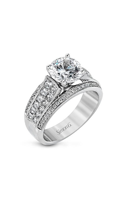Simon G Nocturnal Sophistication - 18k white gold 1.15ctw Diamond Engagement Ring, MR2425 product image
