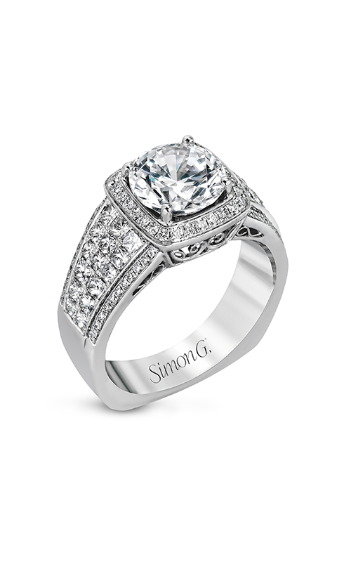 Simon G Nocturnal Sophistication - 18k white gold 0.25, 0.94ctw Diamond Engagement Ring, MR2515 product image
