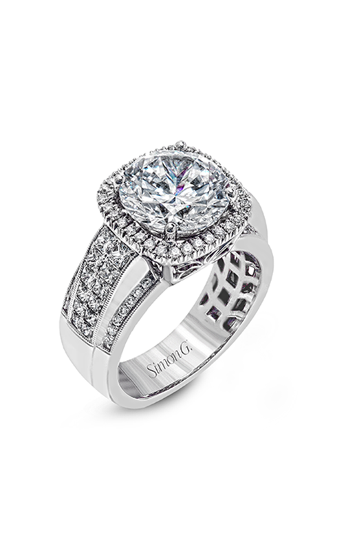 Simon G Nocturnal Sophistication - 18k white gold 1.06ctw Diamond Engagement Ring, MR2097 product image