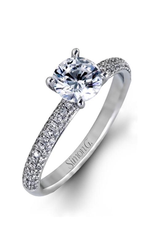 Simon G Caviar - 18k white gold  Engagement Ring, LP1935 product image