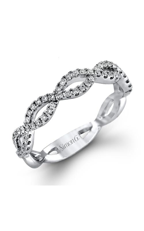 Simon G Classic Romance - 18k white gold 0.65ctw Diamond Wedding Band, MR1596 product image