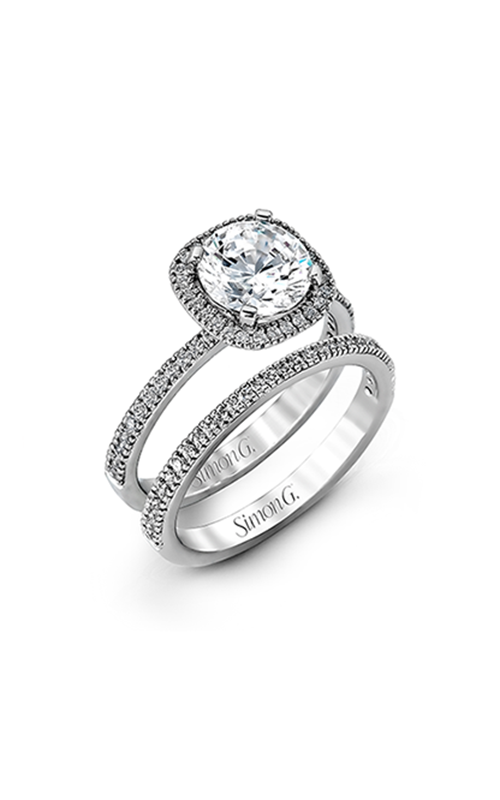 Simon G Passion - 18k white gold 0.50ctw Diamond Wedding Band, MR1840-A product image