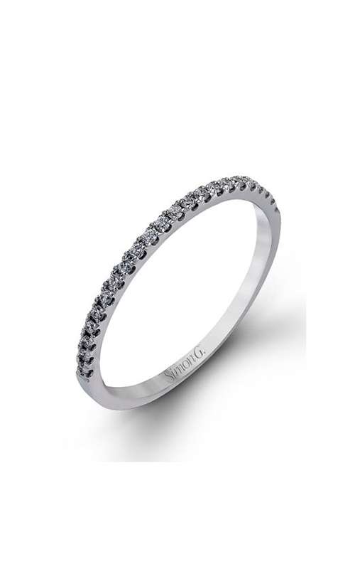Simon G Passion - 18k white gold 0.44ctw Diamond Wedding Band, NR468 product image