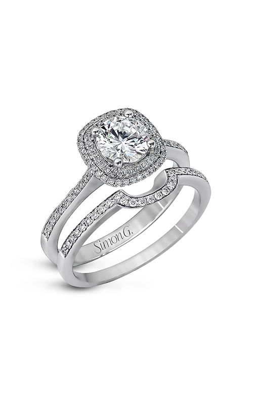 Simon G Delicate - 18k white gold 0.45ctw Diamond Engagement Ring, MR1676-D product image