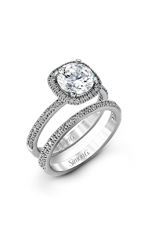 Simon G Passion - 18k white gold 0.50ctw Diamond Engagement Ring, MR1840-A product image