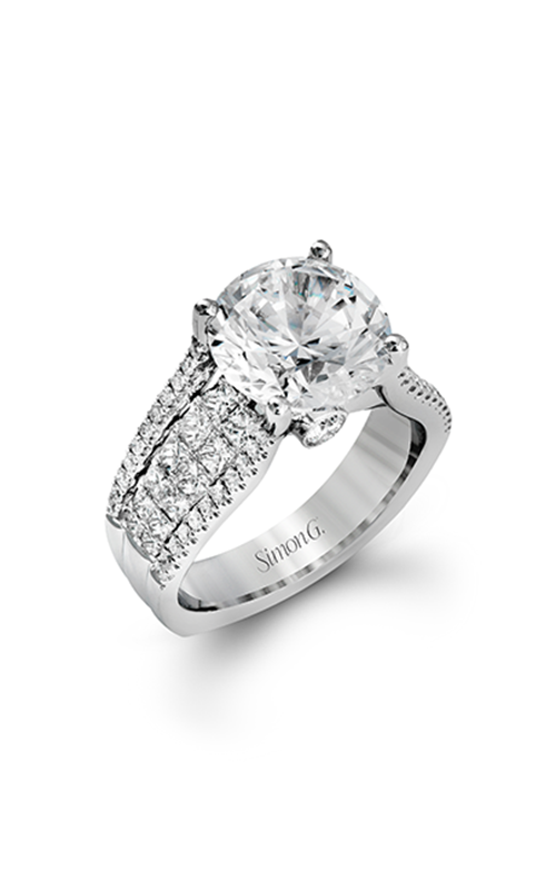 Simon G Nocturnal Sophistication - 18k white gold 1.44ctw Diamond Engagement Ring, MR2691 product image