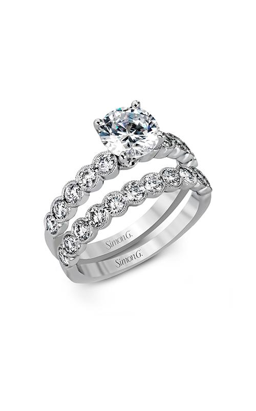 Simon G Modern Enchantment - 18k white gold 1.09ctw Diamond Engagement Ring, MR2566 product image