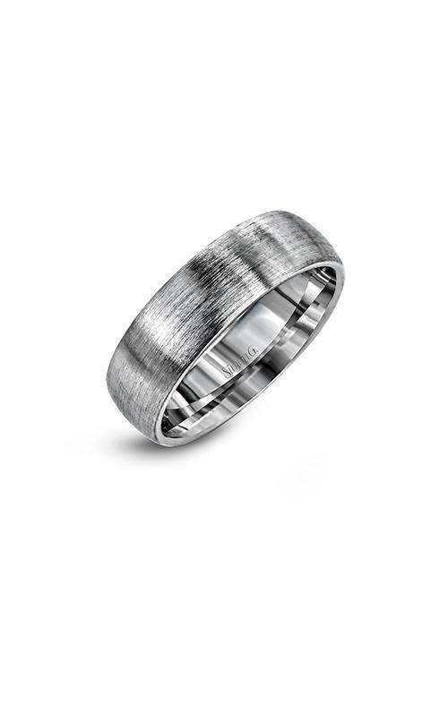 Simon G Men's Wedding Bands - 14k white gold  Wedding Band, LG147 product image
