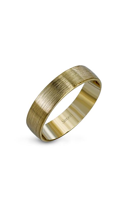 Simon G Men's Wedding Bands - 14k yellow gold  Wedding Band, LG149 product image