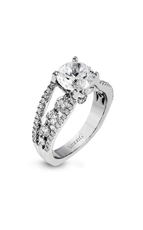 Simon G Modern Enchantment - 18k white gold 1.12ctw Diamond Engagement Ring, MR2690 product image
