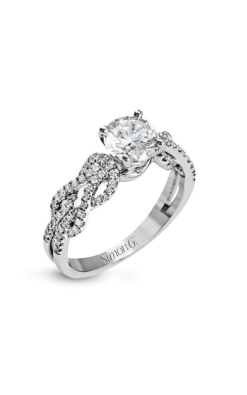 Simon G Classic Romance - 18k white gold 0.33ctw Diamond Engagement Ring, MR2721 product image