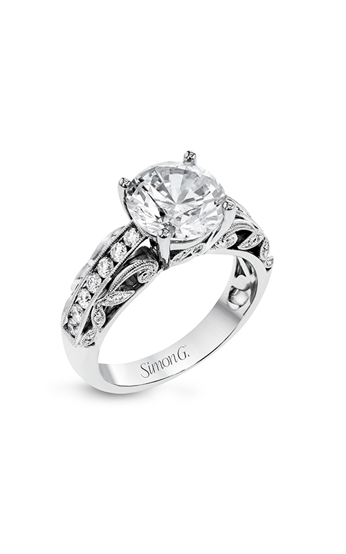 Simon G Garden - 18k white gold 0.43ctw Diamond Engagement Ring, TR622 product image