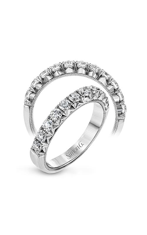 Simon G Passion - 18k white gold 0.74ctw Diamond Wedding Band, LP2340 product image