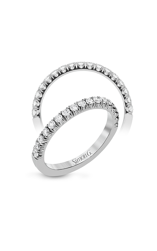 Simon G Passion - 18k white gold 0.33ctw Diamond Wedding Band, LP2342 product image