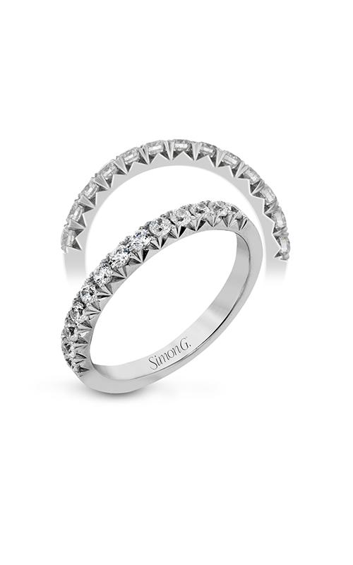 Simon G Passion - 18k white gold 0.50ctw Diamond Wedding Band, LP2343 product image