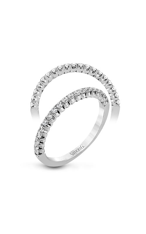 Simon G Passion - 18k white gold 0.35ctw Diamond Wedding Band, LP2345 product image