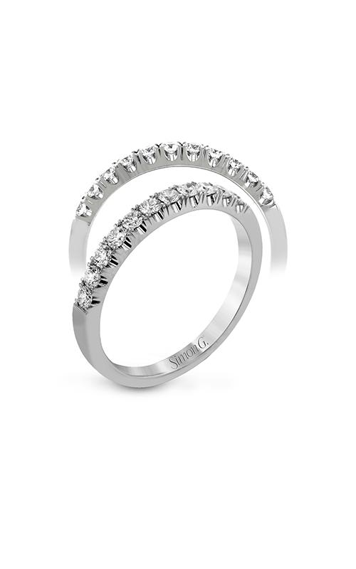 Simon G Passion - 18k white gold 0.47ctw Diamond Wedding Band, LP2346 product image