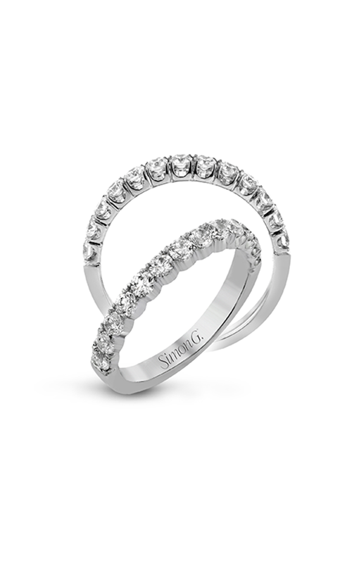 Simon G Passion - 18k white gold 1.00ctw Diamond Wedding Band, LP2347 product image