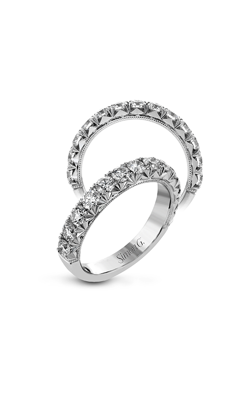 Simon G Passion - 18k white gold 0.97ctw Diamond Wedding Band, LP2371 product image