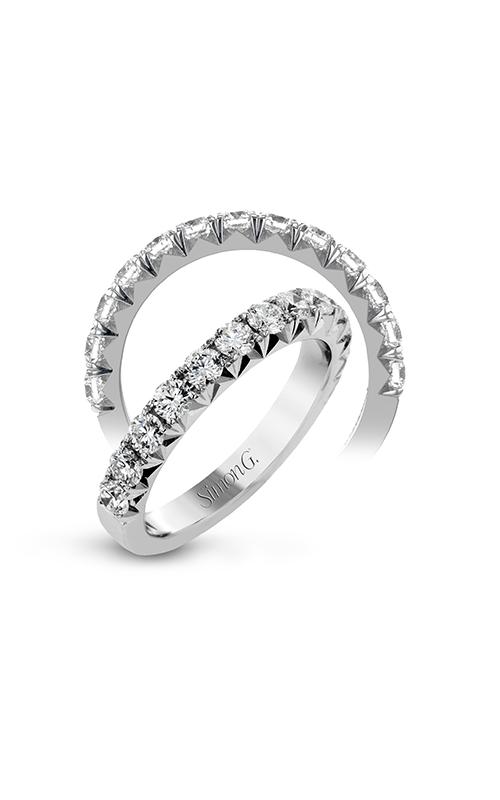 Simon G Passion - 18k white gold 1.00ctw Diamond Wedding Band, LP2372 product image