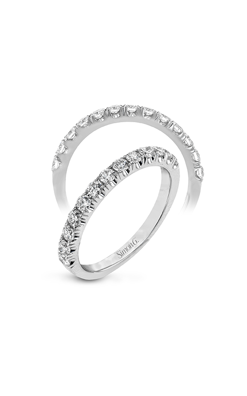 Simon G Passion - 18k white gold 0.50ctw Diamond Wedding Band, LP2373 product image