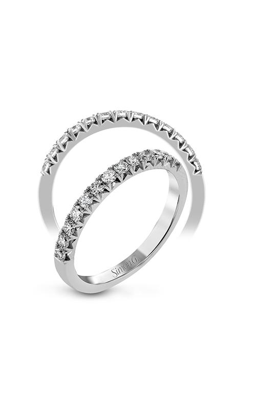 Simon G Passion - 18k white gold 0.33ctw Diamond Wedding Band, LP2375 product image