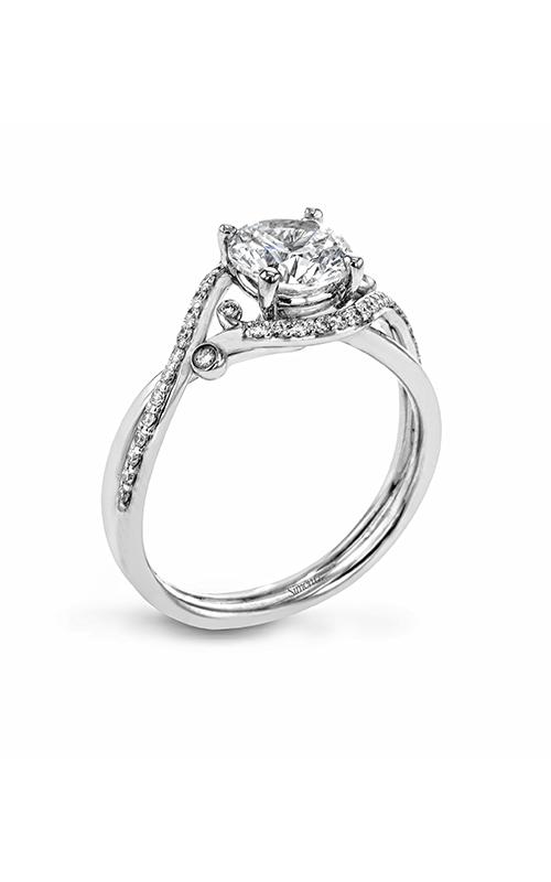 Simon G Delicate - Platinum 0.21ctw Diamond Engagement Ring, LR2113 product image