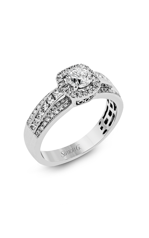 Simon G Modern Enchantment - 18k white gold 1.02ctw Diamond Engagement Ring, MR2560-A product image