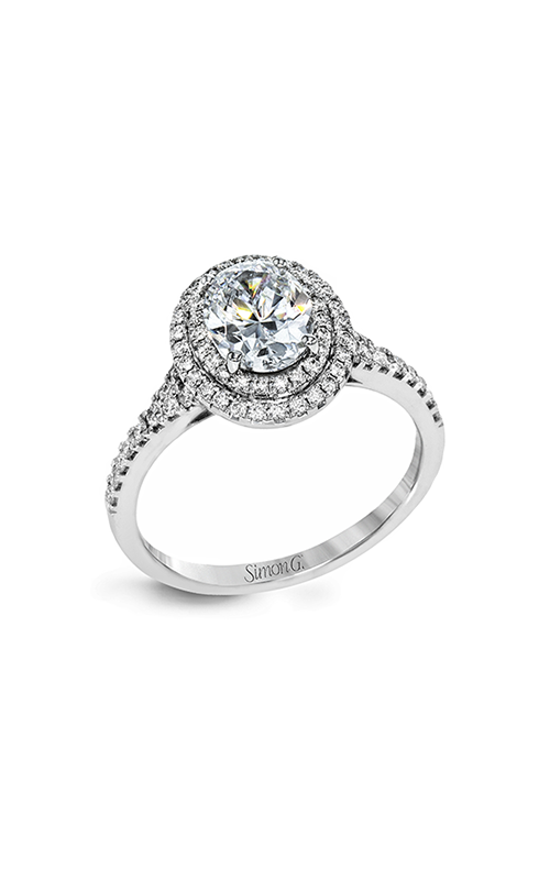 Simon G Passion - 18k white gold 0.40ctw Diamond Engagement Ring, MR2884 product image
