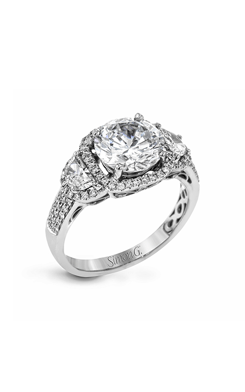 Simon G Passion - 18k white gold 0.59ctw Diamond Engagement Ring, MR2920 product image