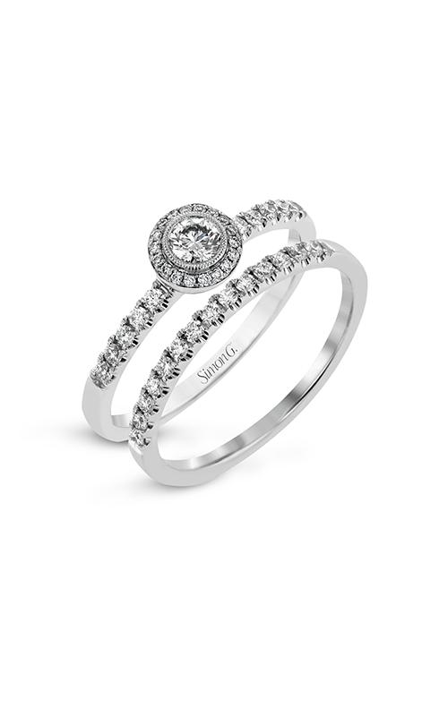Simon G Delicate - 18k white gold 0.31ctw Diamond Engagement Ring, LR1100 product image