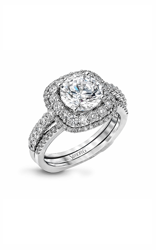 Simon G Passion - 18k white gold 1.17ctw Diamond Engagement Ring, MR2434 product image