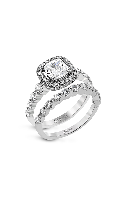 Simon G Modern Enchantment - 18k white gold 1.44ctw Diamond Engagement Ring, MR2477-A product image