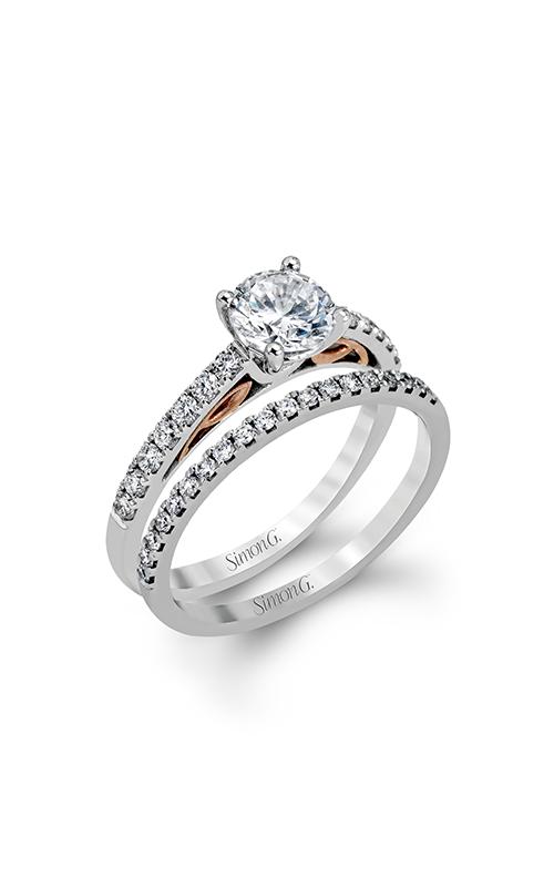 Simon G Classic Romance - 18k white gold 0.45ctw Diamond Engagement Ring, MR2546 product image