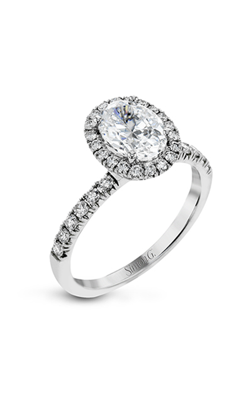 Simon G Passion - 18k white gold 0.72ctw Diamond Engagement Ring, MR2905 product image